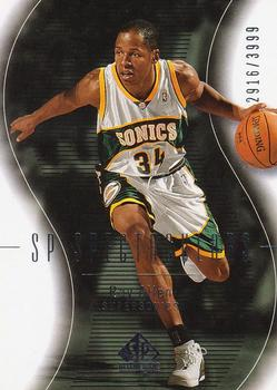 2003-04 SP Authentic #102 Ray Allen Front