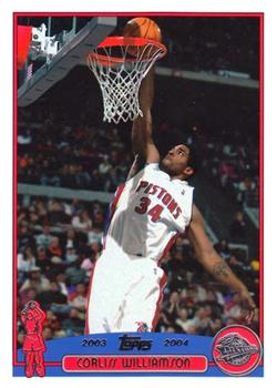 2003-04 Topps #203 Corliss Williamson Front