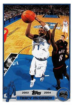 2003-04 Topps #1 Tracy McGrady Front
