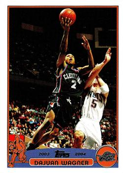 2003-04 Topps #2 Dajuan Wagner Front