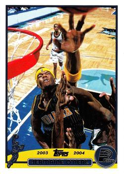 2003-04 Topps #7 Jermaine O'Neal Front