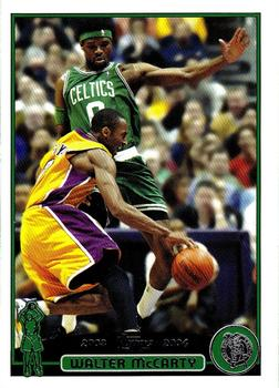 2003-04 Topps #12 Walter McCarty Front