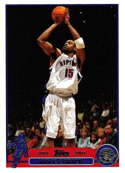 2003-04 Topps #15 Vince Carter Front