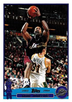 2003-04 Topps #32 Karl Malone Front