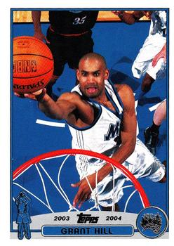 2003-04 Topps #33 Grant Hill Front