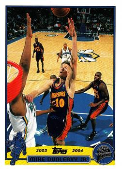 2003-04 Topps #37 Mike Dunleavy Front