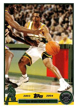 2003-04 Topps #40 Kevin Ollie Front
