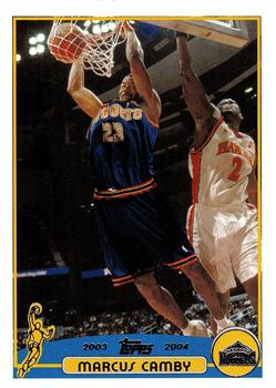 2003-04 Topps #53 Marcus Camby Front