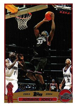 2003-04 Topps #57 Jumaine Jones Front