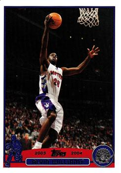 2003-04 Topps #71 Alvin Williams Front