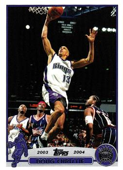 2003-04 Topps #73 Doug Christie Front