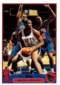 2003-04 Topps #75 Jason Collins Front