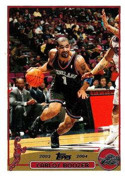 2003-04 Topps #91 Carlos Boozer Front
