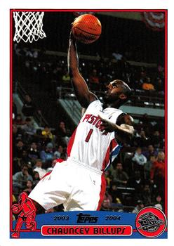 2003-04 Topps #99 Chauncey Billups Front