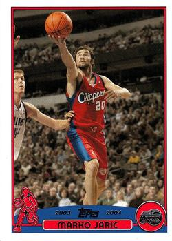 2003-04 Topps #101 Marko Jaric Front