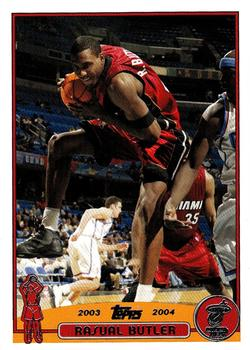 2003-04 Topps #102 Rasual Butler Front