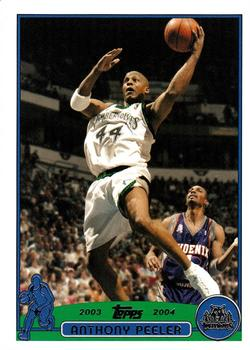 2003-04 Topps #138 Anthony Peeler Front