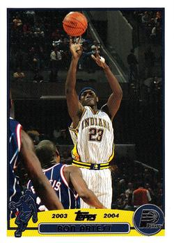 2003-04 Topps #139 Ron Artest Front
