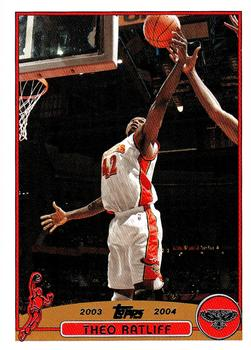 2003-04 Topps #140 Theo Ratliff Front