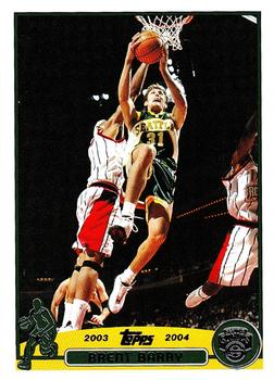 2003-04 Topps #160 Brent Barry Front