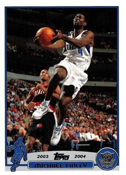 2003-04 Topps #211 Michael Finley Front