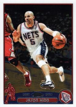 2003-04 Topps Chrome #5 Jason Kidd Front