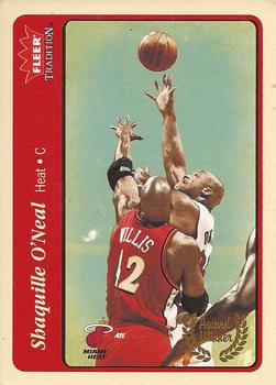 2004-05 Fleer Tradition #213 Shaquille O'Neal Front