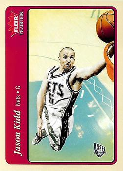 c8f0b7393999 ... New Jersey Nets.  1.00. 2004-05 Fleer Tradition  45 Jason Kidd Front