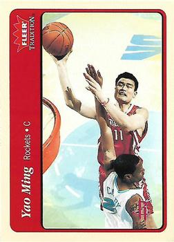 2004-05 Fleer Tradition #112 Yao Ming Front