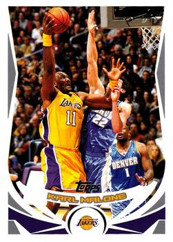 2004-05 Topps #110 Karl Malone Front