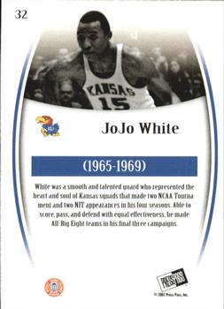2007-08 Press Pass Legends - Gold #32 Jo Jo White Back