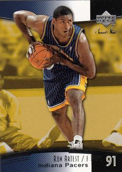 1e7de4a6f 2004-05 Upper Deck Sweet Shot  33 Ron Artest