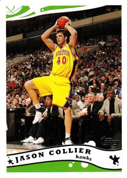 2005-06 Topps #128 Jason Collier Front
