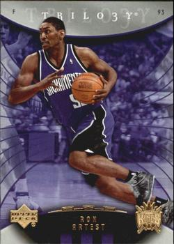 3435fc128 2005-06 Upper Deck Trilogy  31 Ron Artest