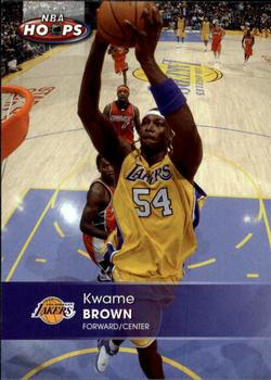 2005-06 Hoops #59 Kwame Brown Front
