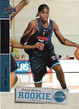 2005-06 Upper Deck Rookie Debut #105 Amir Johnson Front