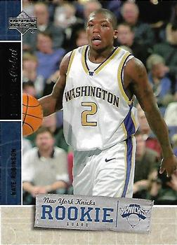 2005-06 Upper Deck Rookie Debut #130 Nate Robinson Front