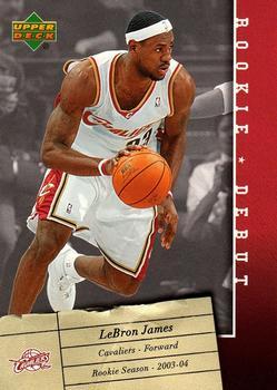 2006-07 Upper Deck Rookie Debut #15 LeBron James Front