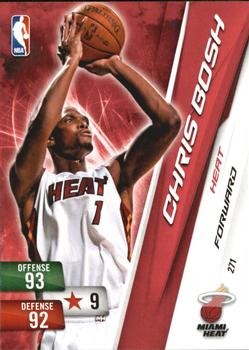 2010-11 Panini Adrenalyn XL #271 Chris Bosh Front