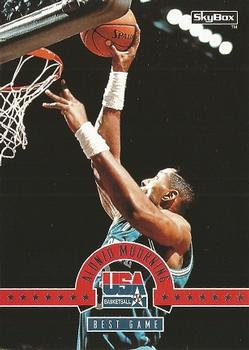 1994 SkyBox USA #3 Alonzo Mourning Front