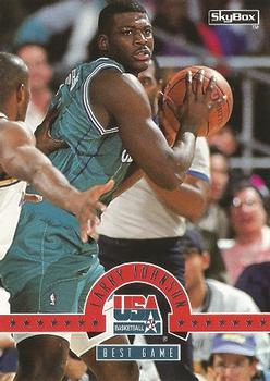 1994 SkyBox USA #9 Larry Johnson Front