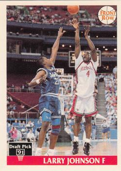 UNLV Runnin Rebels 1991 Front Row Italian English 44 Larry Johnson