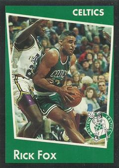 1993-94 Panini Stickers #198 Rick Fox  Front