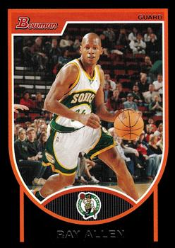 2007-08 Bowman #43 Ray Allen Front