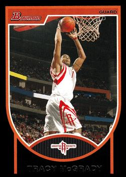 2007-08 Bowman #101 Tracy McGrady Front