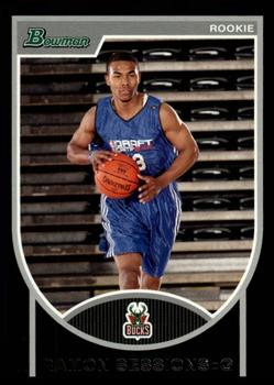 2007-08 Bowman #118 Ramon Sessions Front