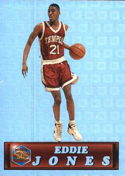 1994 Pacific Prisms #25 Eddie Jones Front