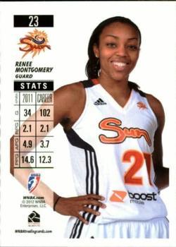 2019 Donruss WNBA Swishful Thinking #1 Renee Montgomery