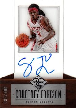 2012-13 Panini Limited #235 Courtney Fortson Front