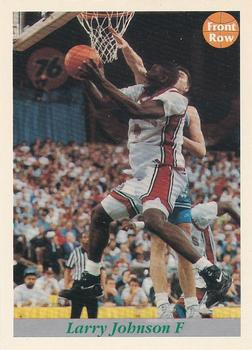 1992 Front Row Draft Picks #100 Larry Johnson Front